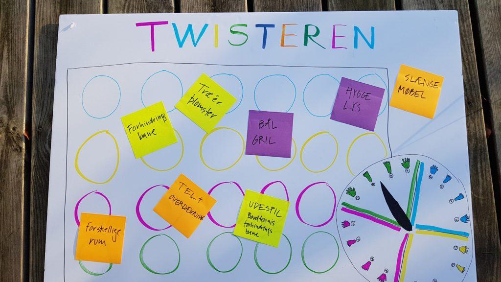 Twisteren - workshop om ungdomsplads i Brædstrup.