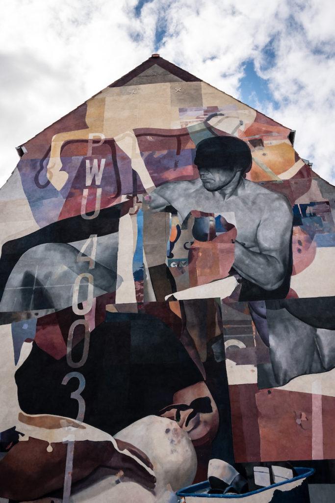 Adresse: Sønderbrogade 18 Kunstner: Morik Foto: Jesper Balleby